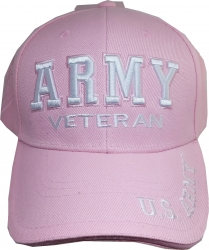 View Buying Options For The U.S. Army Veteran Text Shadow Mens Cap