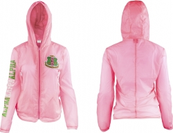 View Buying Options For The Alpha Kappa Alpha Divine 9 Thin & Light Ladies Jacket with Pocket Bag