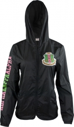 View Buying Options For The Alpha Kappa Alpha Divine 9 Light Ladies Jacket with Pocket Bag