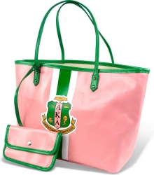 View Buying Options For The Alpha Kappa Alpha Divine 9 Ladies Tote Bag