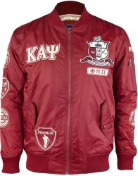 View Buying Options For The Kappa Alpha Psi Divine 9 Bomber Flight Mens Jacket