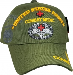 View Buying Options For The United States Army Combat Medic Shadow Mens Cap