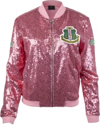 View Buying Options For The Alpha Kappa Alpha Divine 9 Ladies Sequins Jacket