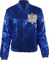 View Buying Options For The Sigma Gamma Rho Divine 9 Ladies Sequins Jacket