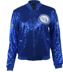 View Buying Options For The Zeta Phi Beta Divine 9 Ladies Sequins Jacket