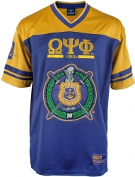 View Buying Options For The Big Boy Omega Psi Phi Divine 9 S7 Mens Football Jersey