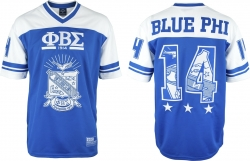 View Buying Options For The Phi Beta Sigma Divine 9 S7 Mens Football Jersey