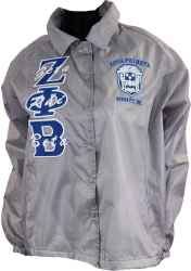 View Buying Options For The Zeta Phi Beta Crest Ladies Crossing Line Jacket