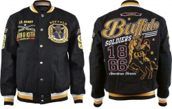 View Buying Options For The Big Boy Buffalo Soldiers S11 Mens Twill Jacket