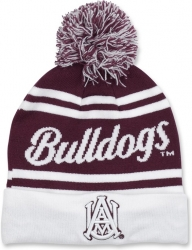 View Buying Options For The Alabama A&M Bulldogs S9 Mens Cuff Beanie Cap with Ball