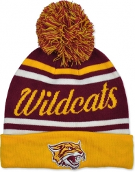 View Buying Options For The Bethune-Cookman Wildcats S9 Mens Cuff Beanie Cap with Ball