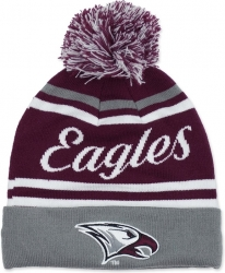 View Buying Options For The North Carolina Central Eagles S9 Mens Cuff Beanie Cap with Ball