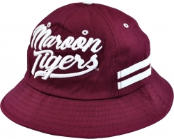 View Buying Options For The Morehouse Maroon Tigers S3 Mens Bucket Hat