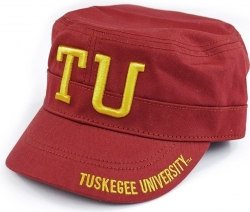 View Buying Options For The Tuskegee Golden Tigers S5 Mens Captains Cadet Cap