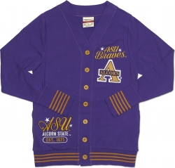 View Buying Options For The Alcorn State Braves S4 Light Weight Ladies Cardigan