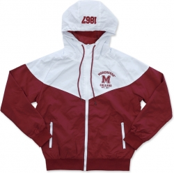 View Buying Options For The Big Boy Morehouse Maroon Tigers S4 Mens Windbreaker Jacket