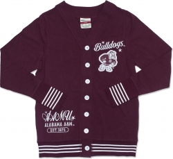 View Buying Options For The Alabama A&M Bulldogs State S4 Light Weight Ladies Cardigan