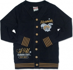 View Buying Options For The Alabama State Hornets S4 Light Weight Ladies Cardigan
