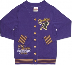 View Buying Options For The Prairie View A&M Panthers S4 Light Weight Ladies Cardigan