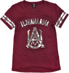 View Buying Options For The Alabama A&M Bulldogs Ladies Jersey Tee