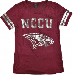 View Buying Options For The North Carolina Central Eagles Ladies Jersey Tee