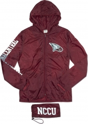 View Buying Options For The North Carolina Central Eagles Thin & Light Ladies Jacket with Pocket Bag