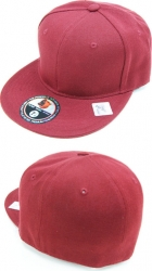 View Buying Options For The Classic Plain Pinwheel Flatbill Mens Fitted Cap