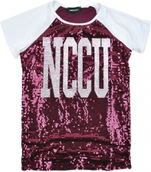 View Buying Options For The Big Boy North Carolina Central Eagles Ladies Sequins Tee