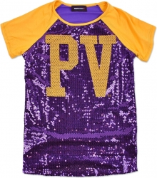 View Buying Options For The Prairie View A&M Panthers Ladies Sequins Tee