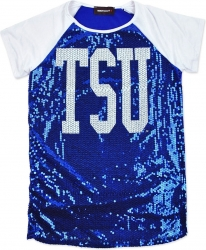 View Buying Options For The Tennessee State Tigers Ladies Sequins Tee