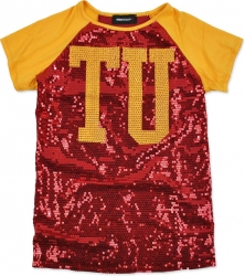 View Buying Options For The Tuskegee Golden Tigers Ladies Sequins Tee