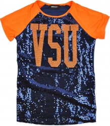 View Buying Options For The Virginia State Trojans Ladies Sequins Tee