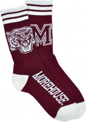 View Buying Options For The Morehouse Maroon Tigers S2 Mens Socks