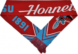 View Buying Options For The Delaware State Hornets S3 Mens Knit Scarf