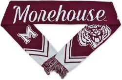 View Buying Options For The Morehouse Maroon Tigers S3 Mens Knit Scarf
