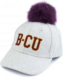 View Buying Options For The Bethune-Cookman Wildcats S8 Ladies Pom Pom Cap