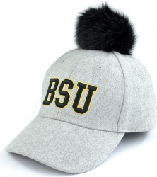 View Buying Options For The Bowie State Bulldogs S8 Ladies Pom Pom Cap