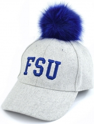 View Buying Options For The Fayetteville State Broncos S8 Ladies Pom Pom Cap