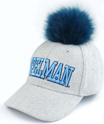 View Buying Options For The Spelman College S8 Ladies Pom Pom Cap