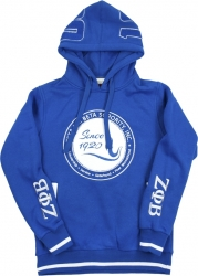 View Buying Options For The Zeta Phi Beta Divine 9 S3 Pullover Ladies Hoodie