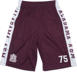 View Buying Options For The Big Boy Alabama A&M Bulldogs Mens Basketball Shorts