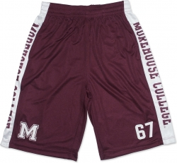 View Buying Options For The Big Boy Morehouse Maroon Tigers Mens Basketball Shorts