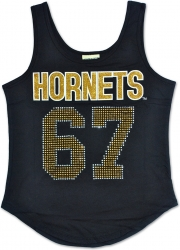 View Buying Options For The Alabama State Hornets S2 Rhinestone Ladies Tank Top