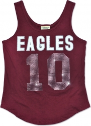 View Buying Options For The North Carolina Central Eagles S2 Rhinestone Ladies Tank Top