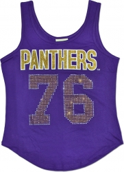 View Buying Options For The Prairie View A&M Panthers S2 Rhinestone Ladies Tank Top