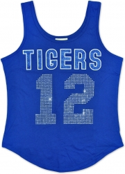 View Buying Options For The Tennessee State Tigers S2 Rhinestone Ladies Tank Top