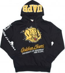 View Buying Options For The Big Boy Arkansas at Pine Bluff Golden Lions S3 Mens Hoodie
