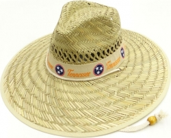 View Buying Options For The Tennessee Wide Brim Mens Straw Hat