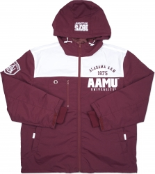 View Buying Options For The Alabama A&M Bulldogs S3 Mens Windbreaker Jacket