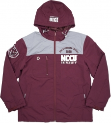 View Buying Options For The North Carolina Central Eagles S3 Mens Windbreaker Jacket